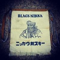 BLACK NIKKA ニッカウ井スキー前掛け