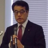 岡田克也前副総理、森友学園の国有地払い下げ問題で、「財務省は問題の深刻さが分かっていない」「麻生大臣は自ら答弁・調査をすべきだ」