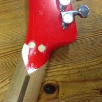 思い立ってギター修理