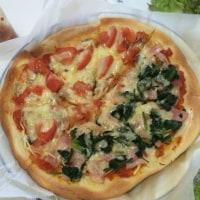今日はピザ 〜自家製アンチョビその後