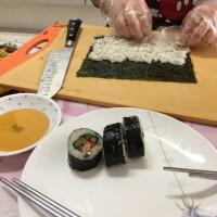 海苔巻き김밥 rolled sushi - 韓国/釜山へ travelling to Pusan