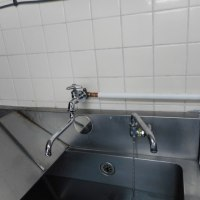 厨房の漏水修理・・・千葉市