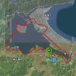 宍道湖・中海1周ラン