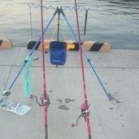 ちょいと投げ釣り。