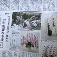 花き園芸新聞に載りました