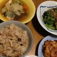 煮物と炊き込み