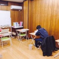 中1と中2はテスト休み。中3は試験勉強。