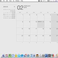 美しすぎるデスクトップ・カレンダー