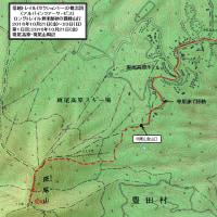紅葉の信越トレイル;第1日目;セクション1;飯山駅から登山口へ