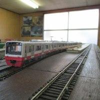 ピンクの電車 新京成N800形