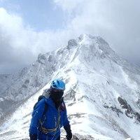 赤岳と横岳:やっと分岐点へ