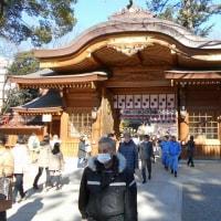大国魂神社へ初詣 5日になると人出も減った?