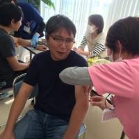 インフルエンザ予防接種😱