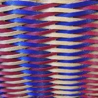 鎧編みのエコクラフトバック