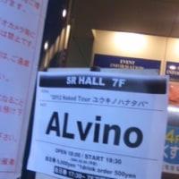 ALvino@鹿児島SR HALL『2012 Naked Tour ユウキノハナタバ~』