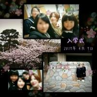 4/7(金)長女・次女 入学式