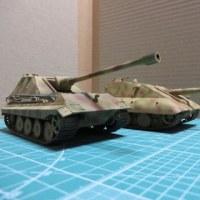 ペーパープランの駆逐戦車(1/72)