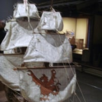 南蛮船のガレオンとナウ