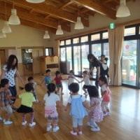 幼稚園で音楽療法~楽しいね!