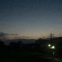 大寒の朝は