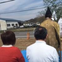 美濃加茂市にて地鎮祭を執り行いました
