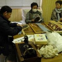田布施町 ワークショップ出店(羊毛紡ぎや織り)のための準備