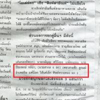 (タイのボクシング)ルンピニースタジアム試合結果