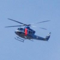 警視庁のヘリコプタ―