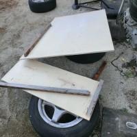 パイプ車庫のデッドスペースの有効利用