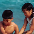 夏の海とカレー、そして遠い日の話