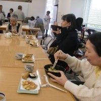 手打ち蕎麦昼食会、10月度「おでかけたい」イベント