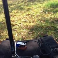 琵琶湖岸で無線運用 ③7MHz CWで驚きの交信