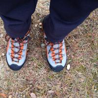 私と登山靴