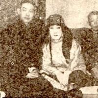「梅蘭芳吹込 ニッポノホンワシ印レコード」 日本蓄音器商会 (1924.11)
