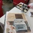 銀座クロッキー会とフィアットカフェ松濤水彩画デモンストレーション