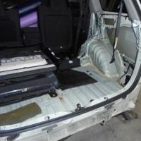 トヨタ ウイッシュ 事故修理ー2
