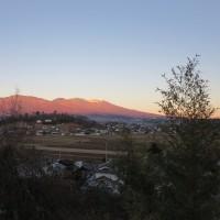 夕焼け浅間山 4