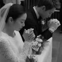 Rain&キム・テヒ、結婚式写真