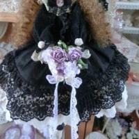黒のドレス天使ちゃん♪