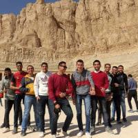 とっても陽気なエジプトの若者たち