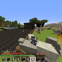 マイクラ日記 のんびりプレイ! part2 家を建てる! 前編