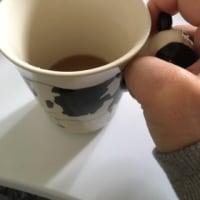 牛のマグカップですが