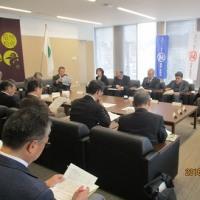 若穂の課題について、加藤市長と懇談