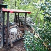 薪置き場作り