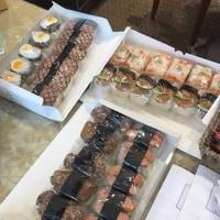 ALOHA FARM CAFE スパムおにぎり 秋山さんが男気購入して   グンちゃんに差し入れしました!!