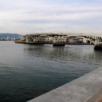 京橋川が合流~元安川散策
