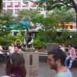 2017.07.02 渋谷駅 ハチ公広場: 「都議会議員選挙モード」のハチ公