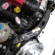 ABARTH 500C エンジンオイル交換と,