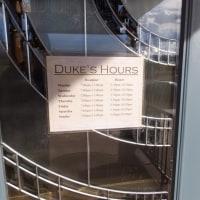 Duke'sで夕食 ブラフ (7/25)