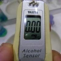 マウスウォッシュとアルコールチェッカー
